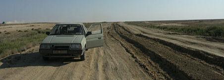 Favorit na mezinárodním silničnímtahu vKazachstánu